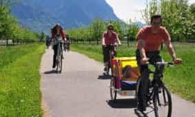 Radurlaub mit dem Velo, Mountainbike, Rennrad oder E-Bike in Liechtenstein