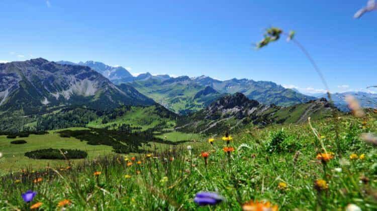 Wanderung von Malbun auf den Schönberg