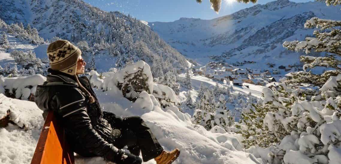 Winterwanderung auf dem idylischen Sassweg